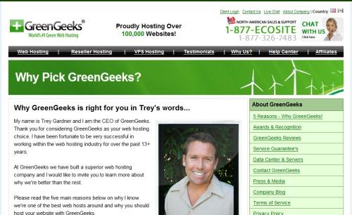 GreenGeeks Trey Gardner